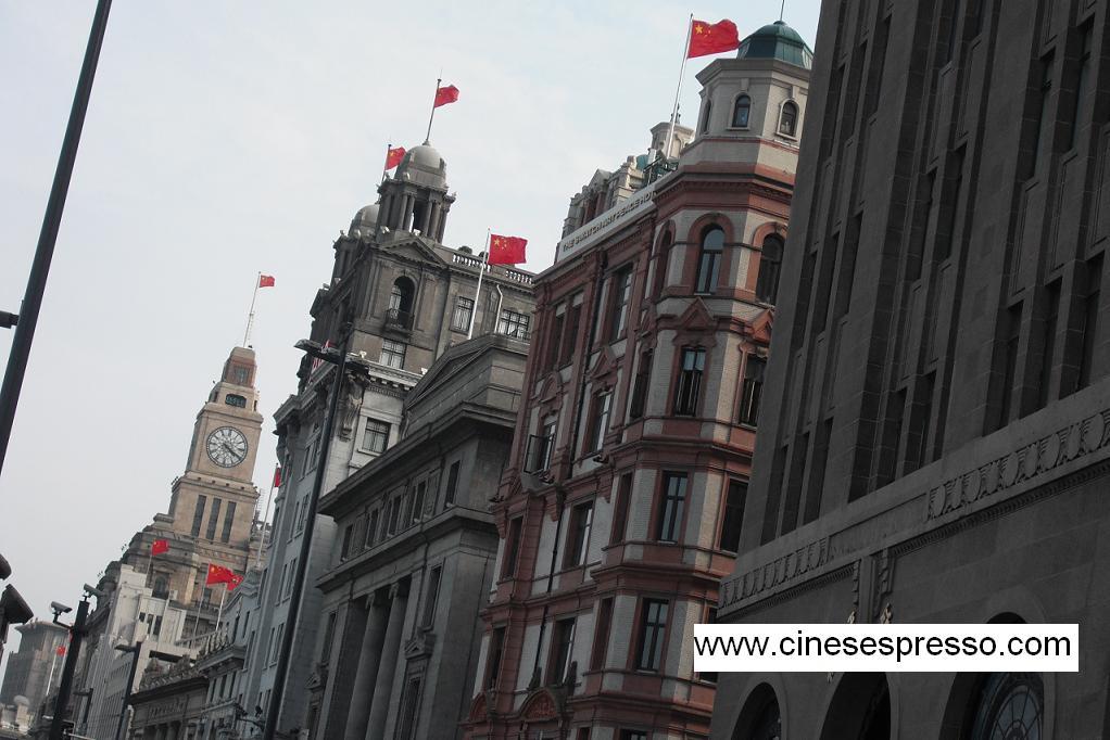 Bund di Shanghai cinesespresso