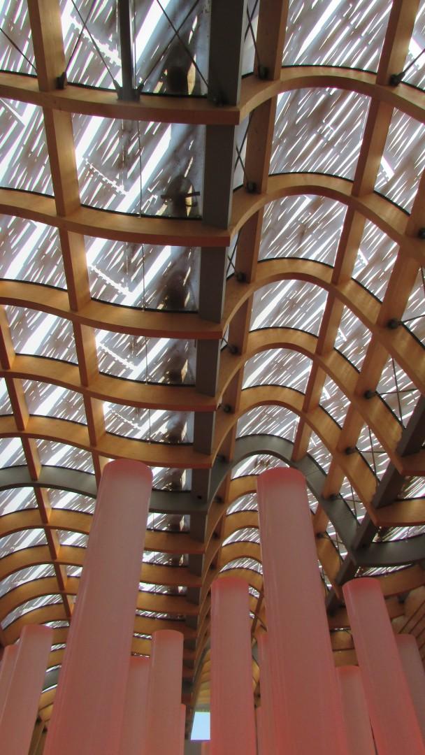 Soffitto del padiglione Cina Expo Milano 2015