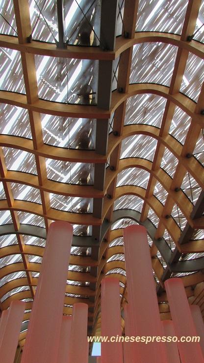 cinesespresso.com - Soffitto del padiglione della Cina - Expo Milano 2015