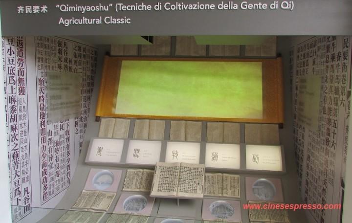 Cinesespresso Qimin yaoshu e le tecniche coltivazione Cina Expo Milano 2015
