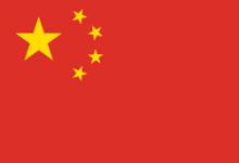 Le cinque stelle sulla bandiera Cinese